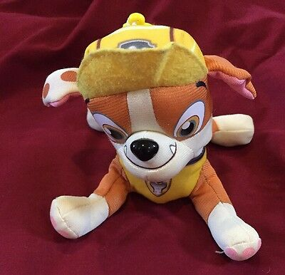 """Hot Sale Paw Patrol Pup Pals Toy Soft Plush Toy 5"""" Nickelodeon Dog Doll -Rubble"""