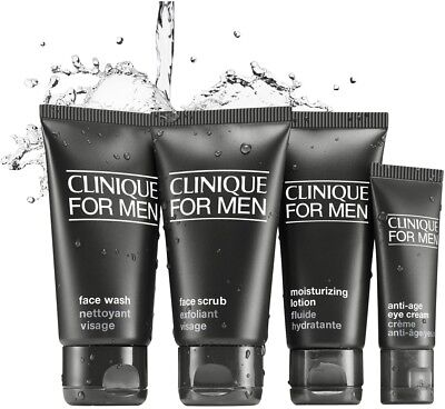Clinique For Men Facial Essentials Kit Holiday Gift Set - 1 Normal Skin Type
