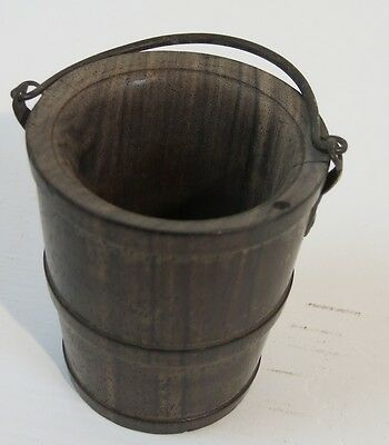 Miniature Well Bucket For Salt