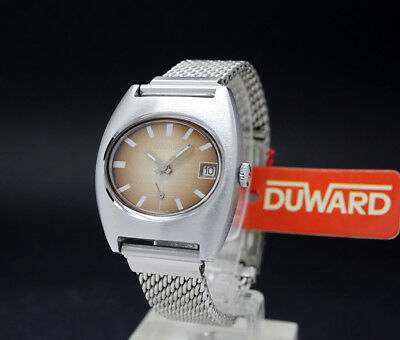 New Old Stock Boys DUWARD color NOS vintage mechanical watch FE 233-69