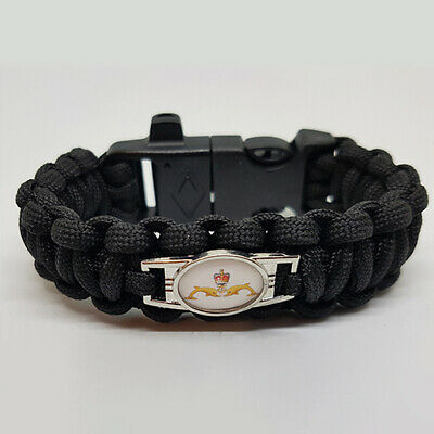 Royal Navy Submarine Service Badged Survival Bracelet Tactical Edge.