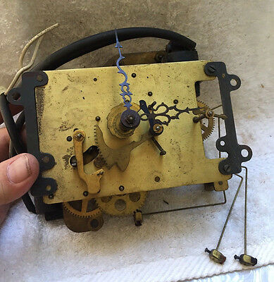Vintage Sessions Electric Clock Movement for Parts or Restoration
