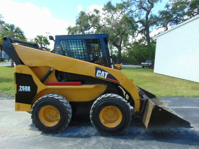 "Cat 268B-Turbo ""high Flow"" 2-Speed - Enclosed A/c & Heated Cab"" Hyd Coupler -"
