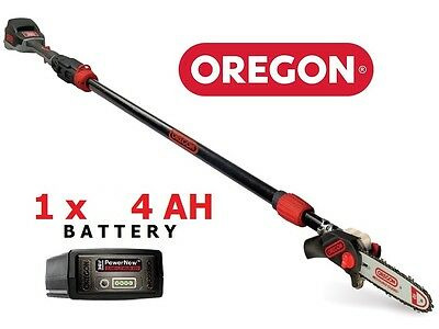 new Oregon PS250 4.0ah Telescopic Pole Pruner 36vCordless 563459 5400182979906 *