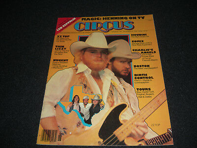 1976 Circus ZZ Top Led Zeppelin Nugent Robert Plant