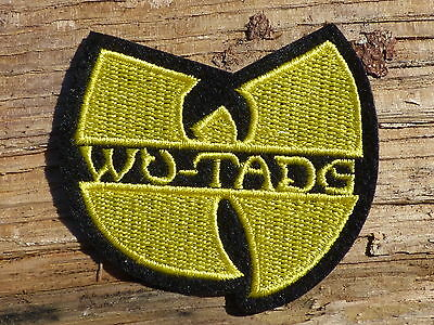 ECUSSON PATCH THERMOCOLLANT aufnaher toppa WU-TANG clan musique hip hop rap ny