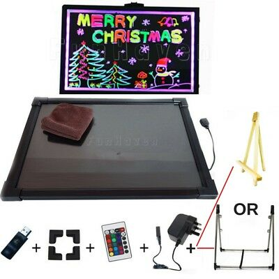 Childrens Sensory Toys Kids LED Light Drawing/Writing Board Special Needs Autism