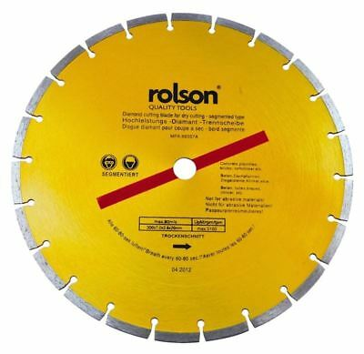 Rolson 12-inch Dry Cut Diamond Blade, 300 mm - 24398