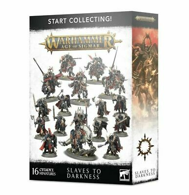 Start Collecting Slaves to Darkness Chaos Warriors Knights Warhammer Age Sigmar