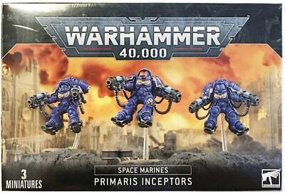 Warhammer 40 - Space Marines Primaris Inceptors - Brand New - Free Shipping