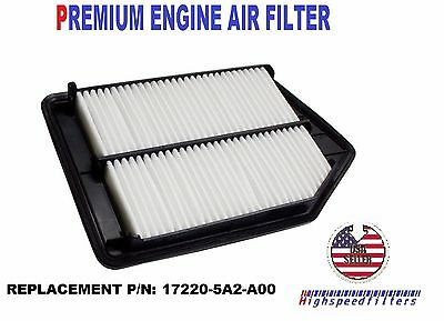 Engine Air Filter For 2017 2016 Honda Accord 2 4l