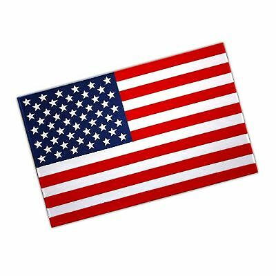 """Vegasbee Huge Usa Flag Embroidered Patch United States Of America Size Xl 12""""..."""