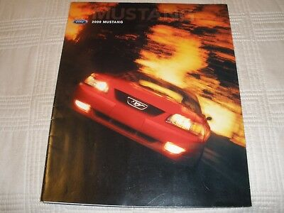 2000 Ford Mustang Brochure