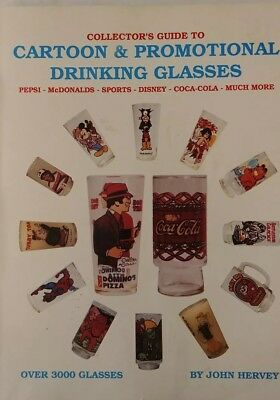Collector's guide to Cartoon and Promotional Drinking Glasses copyright 1990