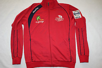 Super Rugby Queensland Reds Mens Travel Jacket Red - sizes Large only