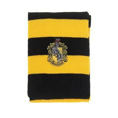 Harry Potter Hufflepuff Knit Shawl Wrap Winter Scarf Deathly Hallows Costume K03