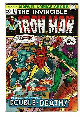 Iron Man #58 FN/VF 7.0, Mandarin, Unicorn