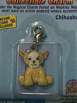 Webkinz Chihuahua Collectible Charm NIP with CODE