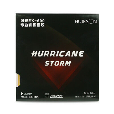 Pro Original DHS Hurricane EX-600 Table Tennis Ping Pong Rubber Olympic Quality