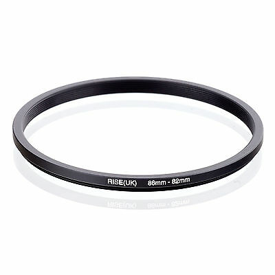Camera 86mm Lens to 82mm Accessory Step Down Adapter Ring 86mm-82mm