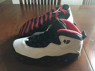 2506c909d006 Nike Air Jordan 10 Retro BG Size 5.5y 310806-102 Double Nickel Womens 7