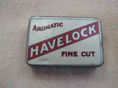 Australian Havelock Silver Fine Cut Tin - Excellent Condition