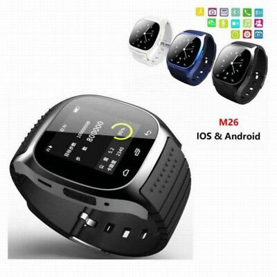 Mate Wrist Waterproof Bluetooth Smart Watch For HTC Android Samsung iPhone iOS