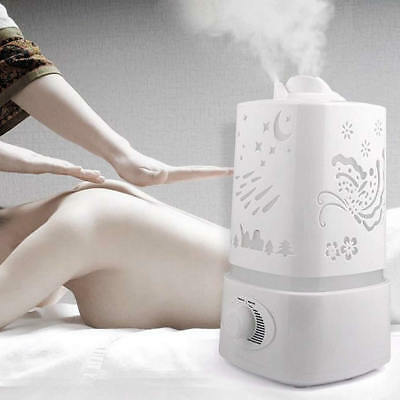1.5L Large Humidifier Essential Oil Diffuser Air Purifier Cool Mist Ultrasonic