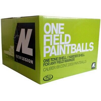 New Legion One Field Paintballs (2000er Karton)