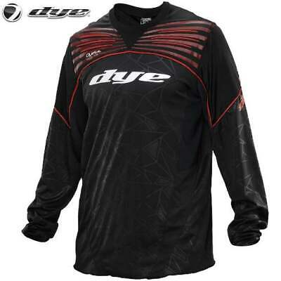 DYE C14 UL Paintball Jersey (Black Red, XS/S)