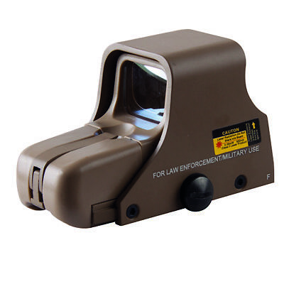 E551 SHORT Holosight Green/Red Dot Visier Replika (tan)