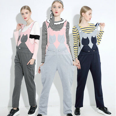 Maternity Dungarees Jumpsuits Playsuits Trousers Twins Cats Cute 8 10 12 14 16