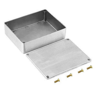 New 1590BB Style Aluminum Stomp Box Effects Pedal Enclosure for Guitar SG