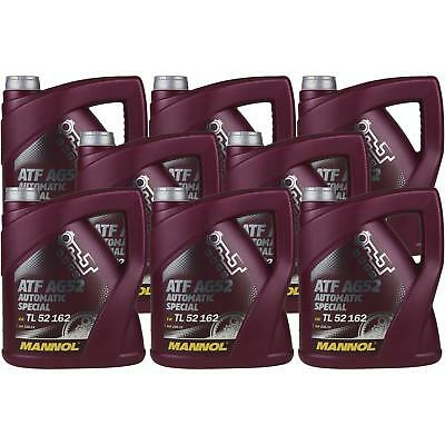 8x 4 Liter GENUINE Mannol Automatic Transmission Fluid ATF AG52 Special