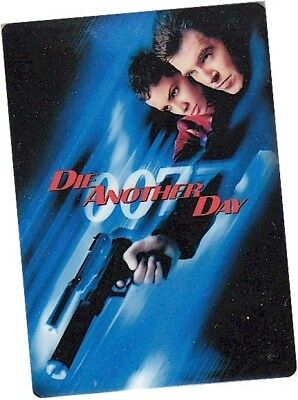 """James Bond Archives 2017 Final Edition - CT1 """"Die Another Day"""" Metal Case Topper"""