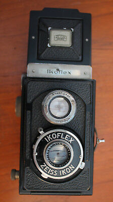 Vintage Cased Zeiss Ikoflex II Camera TLR - Used
