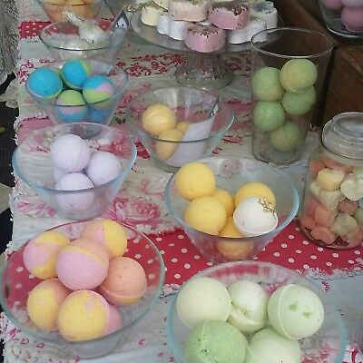 Bath bombs bulk 50  Bath Bombs 80 grams each