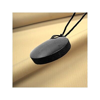 Shungite Pendant Necklace, Large