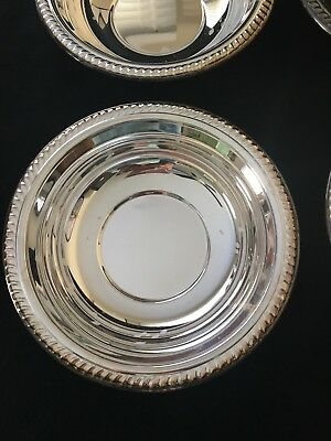 """F.B. Rogers Silver Co. 6 1/2"""" Candy Dish Serving Bowl Lot of 6 - #1883"""