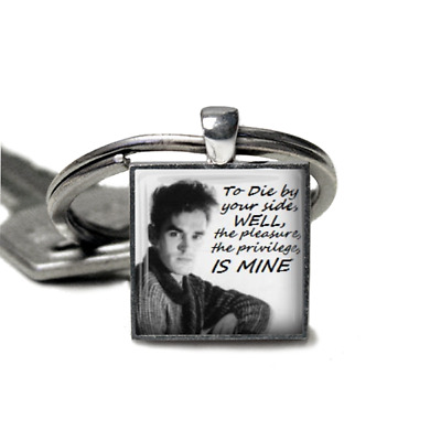 Morrissey keyring Smiths Keyring Lyrics Handmade Morrissey there is a light gift