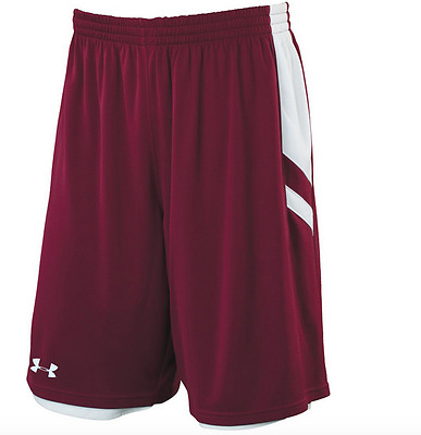 Under Armour mens Undeniable reversible Basketball Shorts  Purple White xl