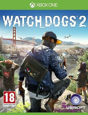 Watch Dogs 2 XBOX ONE - MINT - Same Day Dispatch via Super Fast Delivery