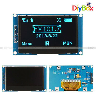 """2.42"""" inch OLED Display SSD1309 128x64 SPI/IIC Serial Port Blue For Arduino C51"""