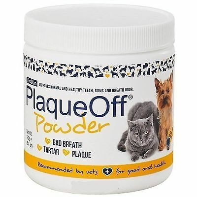 180gm Proden PlaqueOff Dental Care for Dogs and Cats Teeth Bad Breath Healthy