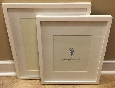"NEW 3PC Pottery Barn Kids Gallery Frame (2) 8""x10"" & 11""x14"" SIMPLY WHITE"