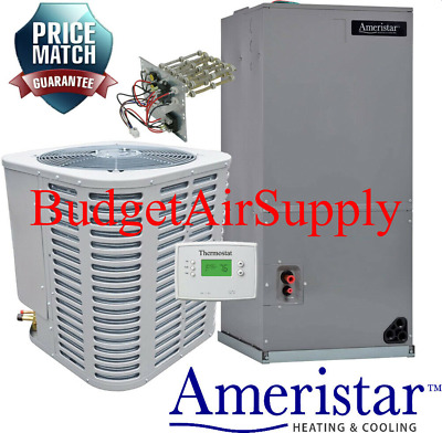 AMERISTAR 2.5 TON 14 Seer HEAT PUMP Split System FREE! Tstat +Heat Strip