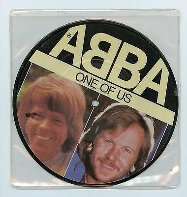 "ABBA/One of Us + 1 (UK/45 RPM 7"" Vinyl Record)PICTURE DISC"