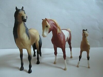 Breyer Reeves Horses -  Stallion, Mare & Foal
