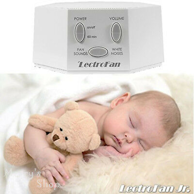 White Noise Machine and Fan Sound Help Baby Sleep LectroFan Timer
