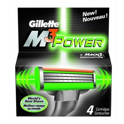 Gillette M3 Power Blades - Best Mach3 Shave